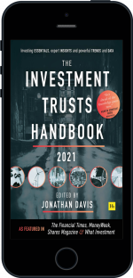 Cover of The Investment Trust Handbook 2021  by Jonathan Davis