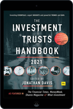 Cover of The Investment Trusts Handbook 2021  (Ebook - tablet) by Jonathan Davis