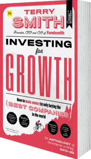 Cover of Investing for Growth (Hardback) by Terry Smith