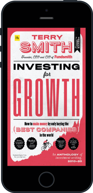 Cover of Investing for Growth (Ebook - phone) by Terry Smith