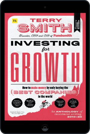 Cover of Investing for Growth (Ebook - tablet) by Terry Smith