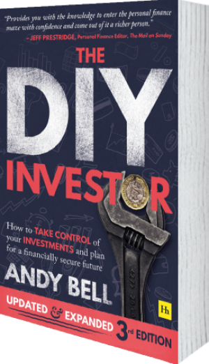 Cover of The DIY Investor 3rd edition  (Paperback) by Andy Bell