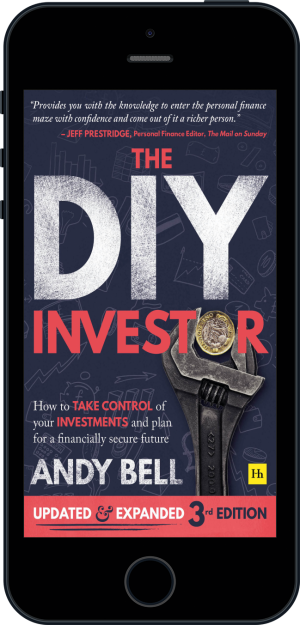 Cover of The DIY Investor 3rd edition  (Ebook - phone) by Andy Bell