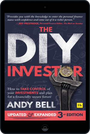 Cover of The DIY Investor 3rd edition  (Ebook - tablet) by Andy Bell
