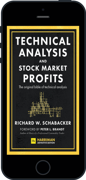 Cover of Technical Analysis and Stock Market Profits (Harriman Definitive Edition) (Ebook - phone) by Richard Schabacker