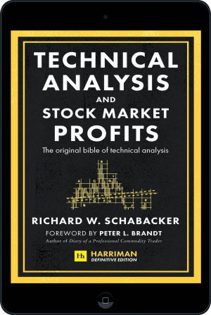 Cover of Technical Analysis and Stock Market Profits (Harriman Definitive Edition) (Ebook - tablet) by Richard Schabacker