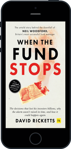 Cover of When the Fund Stops (Ebook - phone) by David  Ricketts