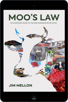 Cover of Moo's Law by Jim Mellon