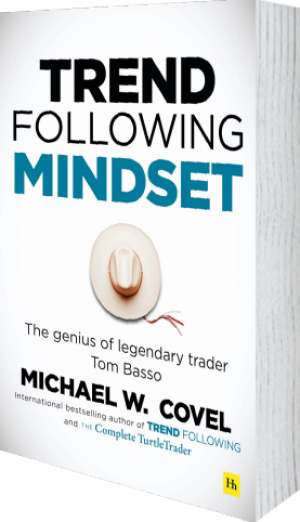 Cover of Trend Following Mindset by Michael Covel