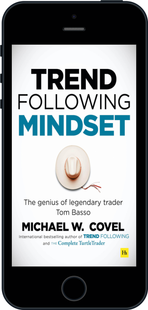 Cover of Trend Following Mindset (Ebook - phone) by Michael Covel