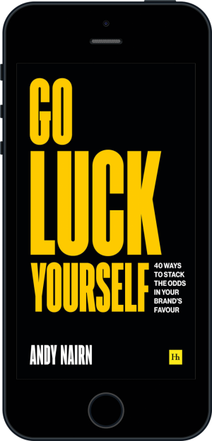 Cover of Go Luck Yourself (Ebook - phone) by Andy Nairn