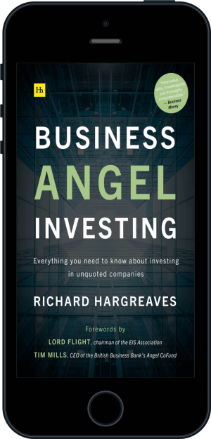 Cover of Business Angel Investing  (Ebook - phone) by Richard Hargreaves