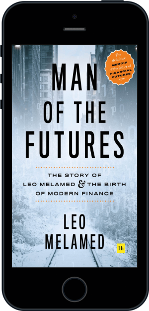 Cover of Man of the Futures (Ebook - phone) by Leo Melamed