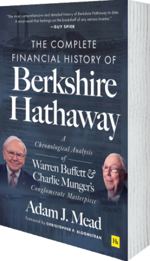Cover of The Complete Financial History of Berkshire Hathaway (Hardback) by Adam J. Mead