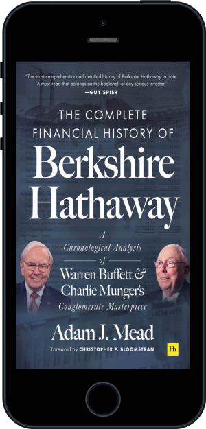Cover of The Complete Financial History of Berkshire Hathaway (Ebook - phone) by Adam J. Mead
