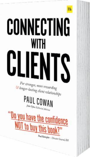 Cover of Connecting with Clients (Paperback) by Paul Cowan