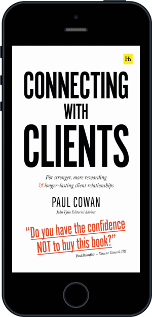 Cover of Connecting with Clients (Ebook - phone) by Paul Cowan