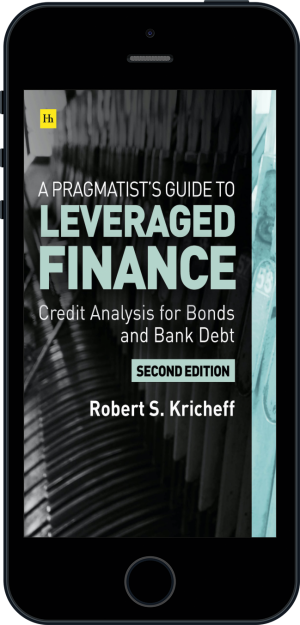 Cover of A Pragmatist's Guide to Leveraged Finance (Ebook - phone) by Robert S. Kricheff