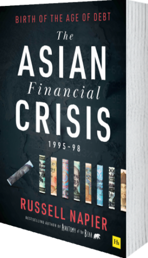 Cover of The Asian Financial Crisis 1995–98 (Hardback) by Russell Napier