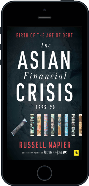 Cover of The Asian Financial Crisis 1995–98 (Ebook - phone) by Russell Napier