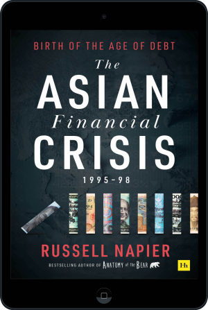 Cover of The Asian Financial Crisis 1995–98 (Ebook - tablet) by Russell Napier