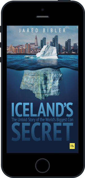 Cover of Iceland's Secret (Ebook - phone) by Jared Bibler