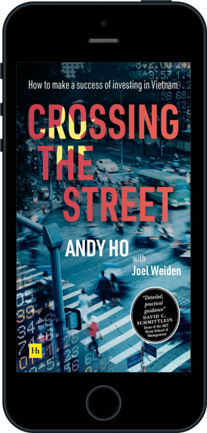 Cover of Crossing the Street (Ebook - phone) by Andy  Ho