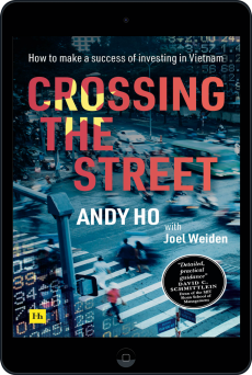Cover of Crossing the Street by Andy  Ho