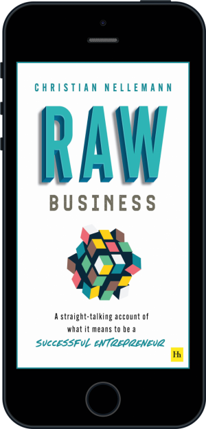 Cover of Raw Business  (Ebook - phone) by Christian Nellemann