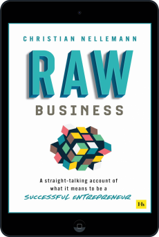 Cover of Raw Business  by Christian Nellemann