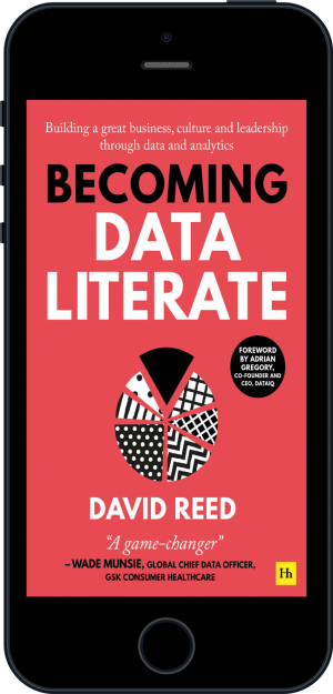 Cover of Becoming Data Literate  (Ebook - phone) by David Reed