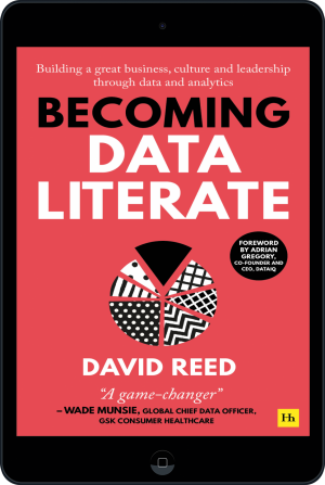 Cover of Becoming Data Literate  (Ebook - tablet) by David Reed