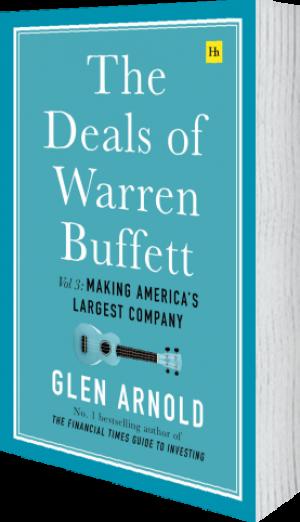 Cover of The Deals of Warren Buffett Volume 3 (Hardback) by Glen Arnold