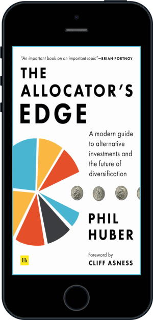 Cover of The Allocator's Edge (Ebook - phone) by Phil Huber