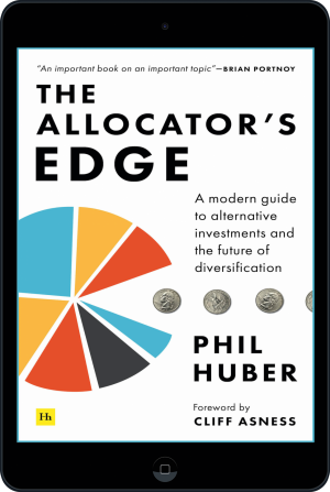 Cover of The Allocator's Edge (Ebook - tablet) by Phil Huber