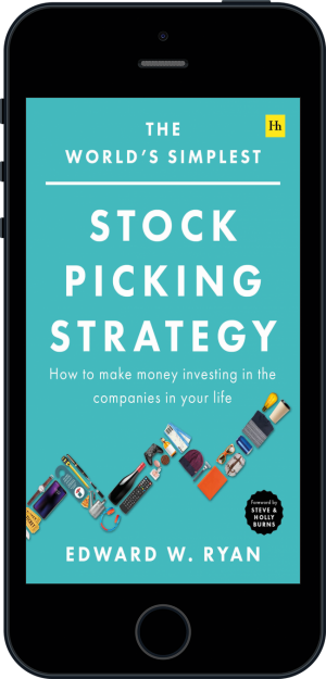 Cover of The World's Simplest Stock Picking Strategy (Ebook - phone) by Edward W. Ryan