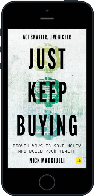 Cover of Just Keep Buying (Ebook - phone) by Nick  Maggiulli