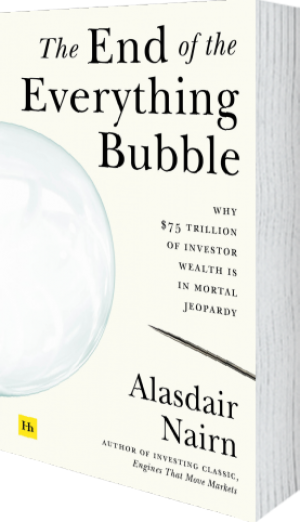 Cover of The End of the Everything Bubble (Paperback) by Alasdair Nairn