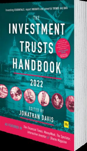 Cover of The Investment Trusts Handbook 2022 (Hardback) by Jonathan Davis