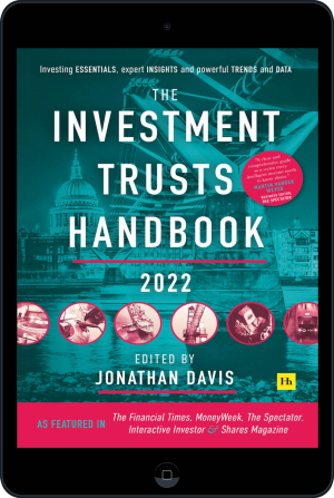 Cover of The Investment Trusts Handbook 2022 (Ebook - tablet) by Jonathan Davis
