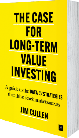 Cover of The Case for Long-Term Value Investing  (Hardback) by Jim Cullen