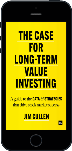 Cover of The Case for Long-Term Value Investing  (Ebook - phone) by Jim Cullen