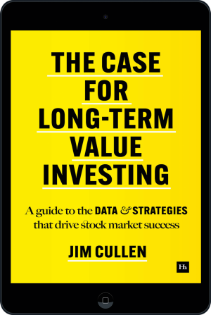 Cover of The Case for Long-Term Value Investing  (Ebook - tablet) by Jim Cullen