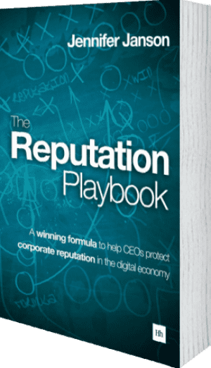 Cover of The Reputation Playbook (Paperback) by Jennifer Janson