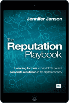 Cover of The Reputation Playbook by Jennifer Janson