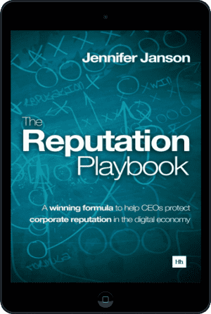 Cover of The Reputation Playbook (Ebook - tablet) by Jennifer Janson