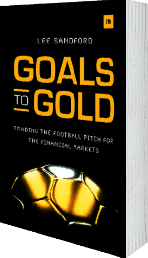 Cover of Goals to Gold by Lee Sandford