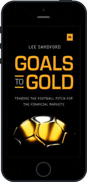 Cover of Goals to Gold (Ebook - phone) by Lee Sandford