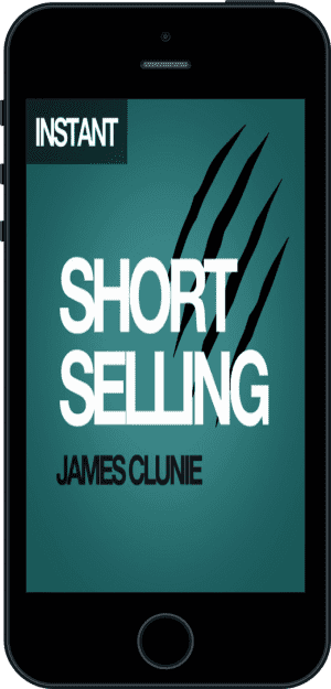 Cover of Short Selling (Ebook - phone) by James Clunie