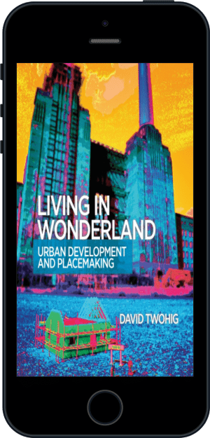 Cover of Living in Wonderland (Ebook - phone) by David Twohig